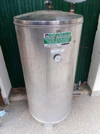 Termo acumulador para ligar a tanque de refrigeração de leite