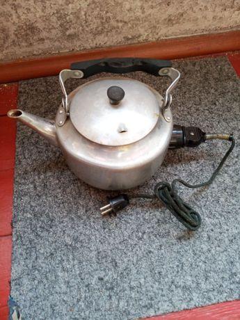 Чайник электрический электрочайник СССР алюминиевый