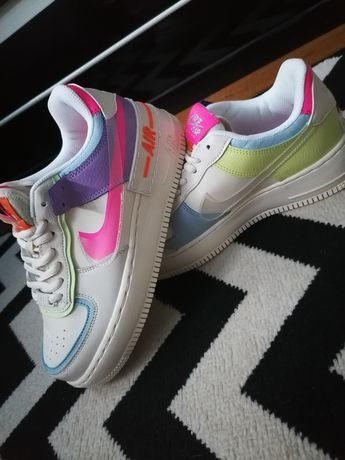 Nike Air force 1 shadow pastel 39