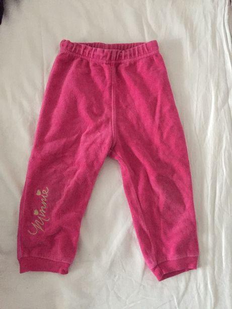 Dresy spodnie 80/86 George Disney Minnie
