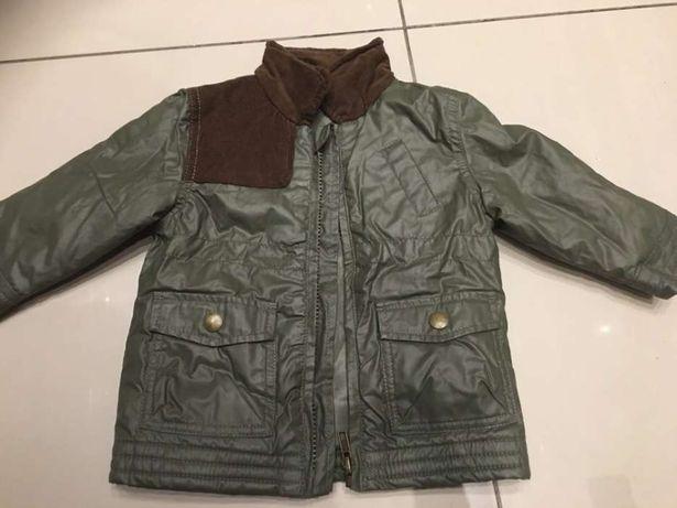 Kurtka przejściowa modna khaki George 6-9 miesięcy