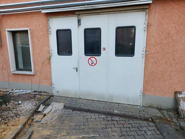 Brama garażowa harmonijkowa Hörmann 303 x 265