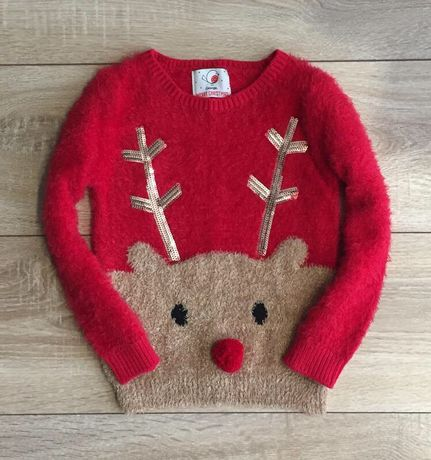 Новогодний свитер George 3-4 года 98-104