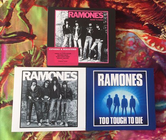 Ramones, 3x cd, punk rock, stan bdb
