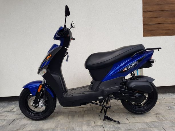 Kymco Agility 50 4t 2020r jak nowy skuter