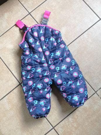Spodnie narciarskie dla dziewczynki 80