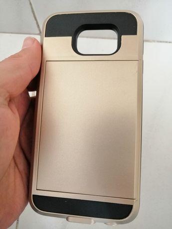Capa Samsung S6 gold