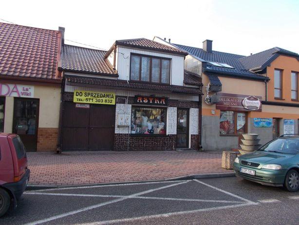 Dom w centrum Drzewicy z lokalem pod działalność