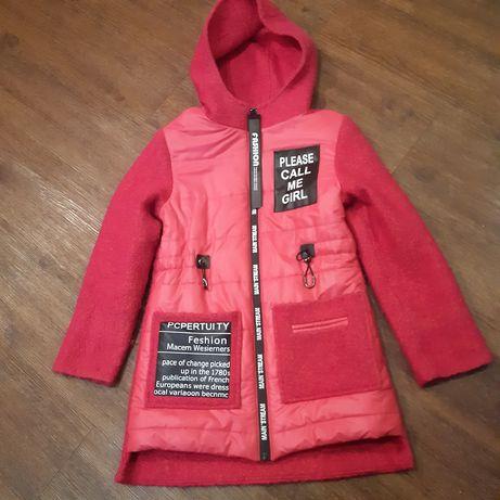 Пальто демисезоне для дівчинки,курточки