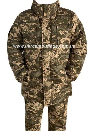 Зимний бушлат костюм военная форма пиксель зсу камуфляж