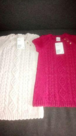 Tuniczki, sukienki dla dziewczynki z HM