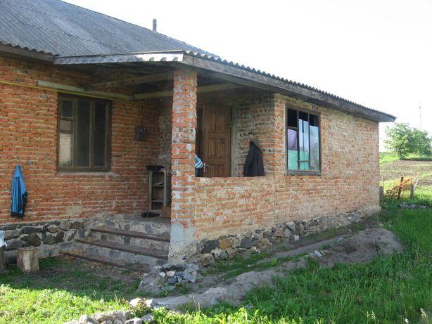 Терміново!!! Продам недобудований будинок із землею
