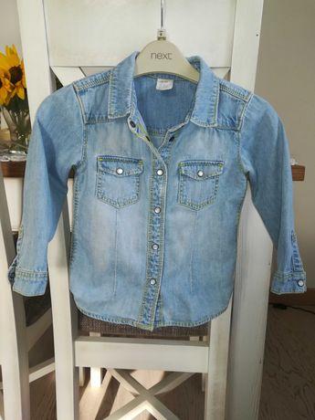 Koszula jeansowa H&M rozmiar 92