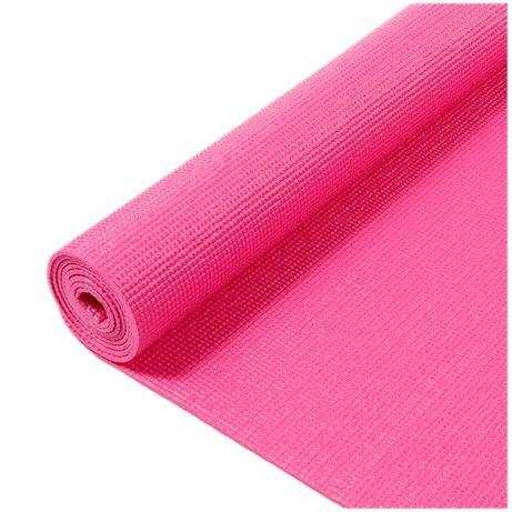Mata do jogi fitness różowa 170x58x0,5cm