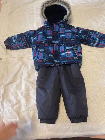 Зимний костюм Lenne для мальчика рост 86+6см