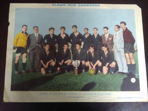 Poster Equipa de Juniores futebol Académica de Coimbra