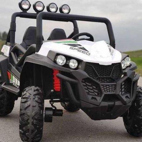 Auto na Akumulator Buggy 4x4 Białe 2 osobowe do 70 kg