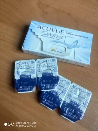 Soczewki kontaktowe Acuvue Oasys