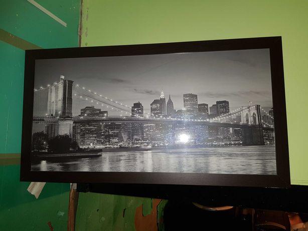 Obraz Brooklyn nocą