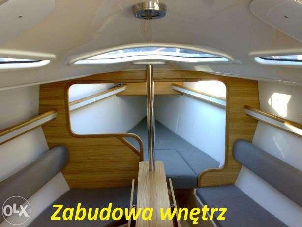 Usługi szkutnicze serwis naprawa jacht motorówka żaglówka houseboat
