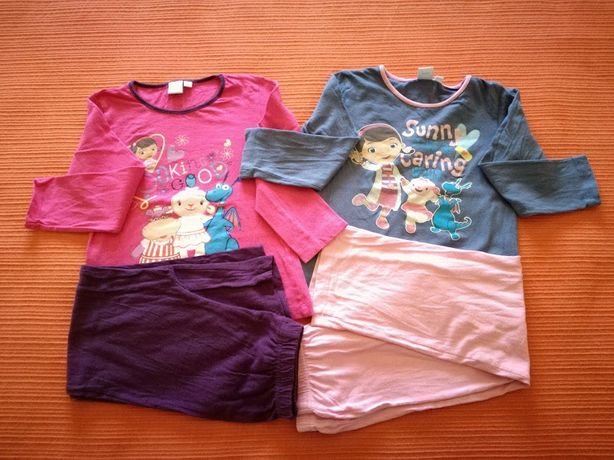Lote Pijamas Dr.ª Brinquedos, 5 Anos