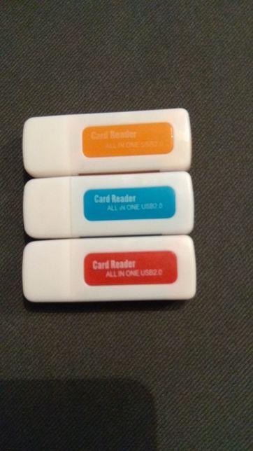 Картридеры 4 в 1 USB
