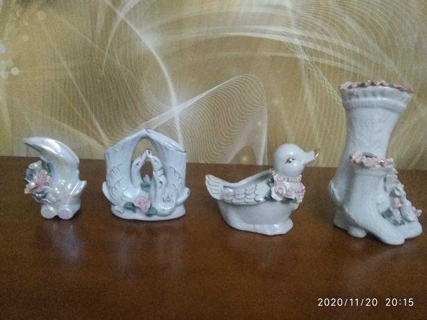 Figurki porcelanowe kolekcja 8 figurek
