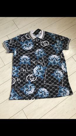 Крутая мужская футболка в камнях PhilippPlein/ФилипПлейн Новинка
