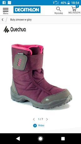 Buty śniegowce Quechua 15cm