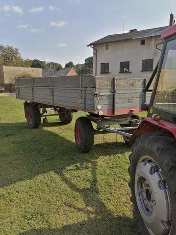 Przyczepa rolnicza niemiecka