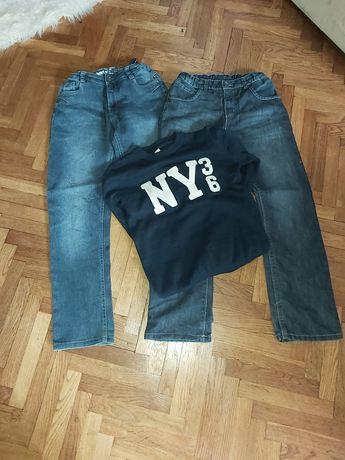 Sweterek H&M + 2 pary spodni
