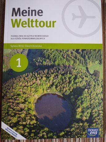 Książki do Języka Niemieckiego(podręcznik+ćwiczenia) Meine Welttour 1