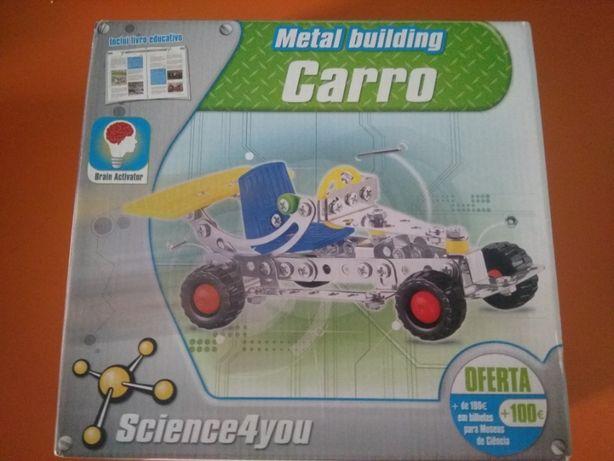 Metal building Carro - Science4you