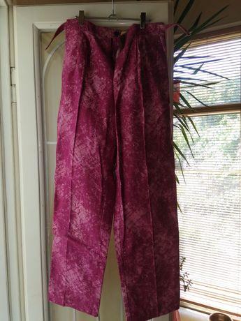 Штаны брюки розовые большой размер