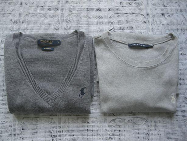 "Ralph Lauren Merino sweterek z merynosów ""M"" damski x2 sztuki"