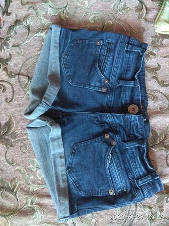 Шорты для девочки джинсовые стречевые
