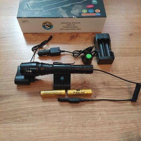 Тактический Охотничий фонарь Фонарик для охоты подствольный BL-Q8668