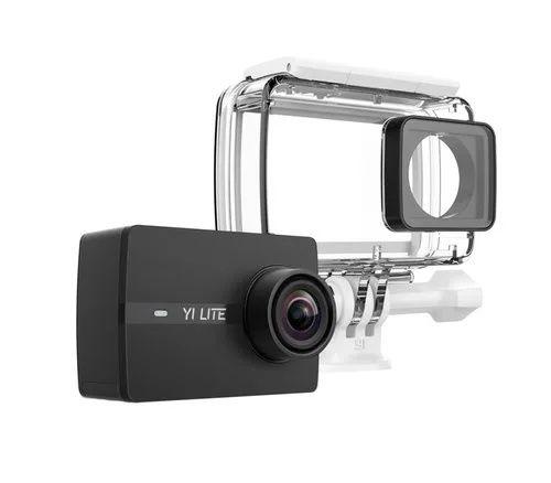 Видео экшн камера Xiaomi Yi 4K Global+ 128Gb и Кейс подводной съемки