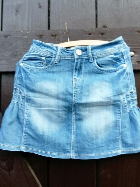 Spódnicą jeansowa 36