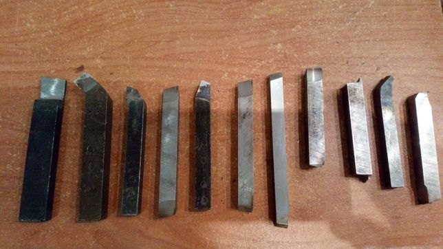 Noże tokarskie 11 sztuk cena za wszystko
