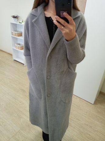 Пальто з шерсті Альпака