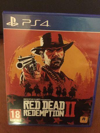 Red dead redemption 2 na PS4 (jedna płyta)