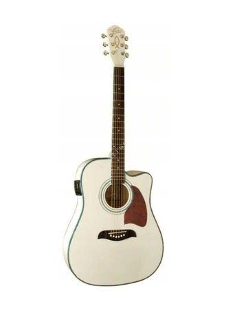 Oscar Schmidt OG 2 CE WH - gitara elektroakustyczna- dostawa GRATTIS