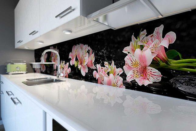 Druk grafika na szkle szkło do kuchni łazienki  panele szklane lakobel