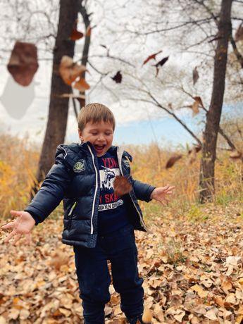 Детская фирменная куртка демисезонная куртка