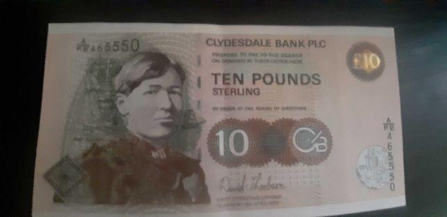 10 funtów Szkocja