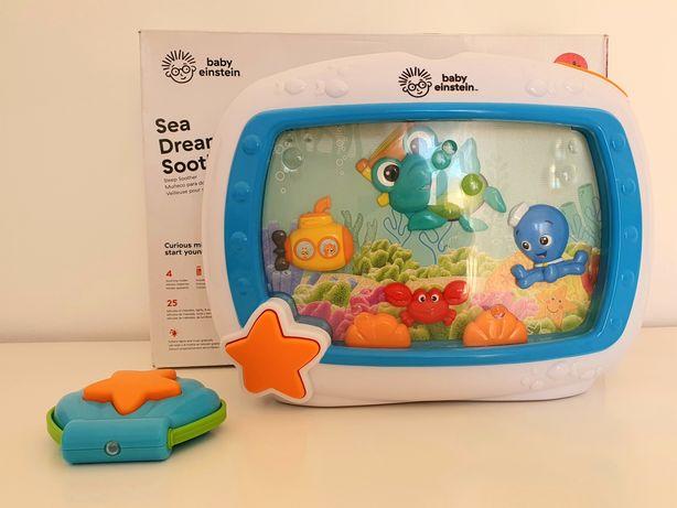 Tv para bebé Luz de presença Baby Einstein Sea Dreams Soother Aquário
