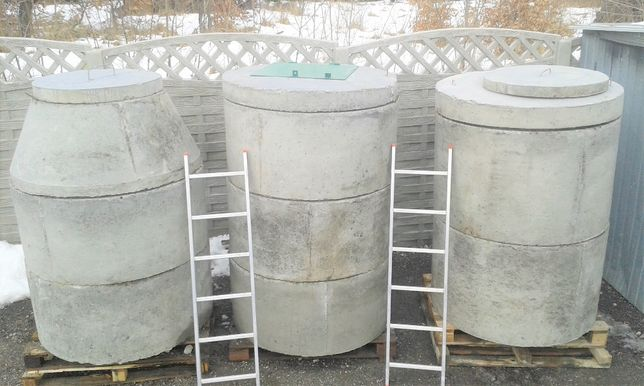 Kręgi betonowe Śląsk - dryny na studnie szamba Myszków woj Śląskie