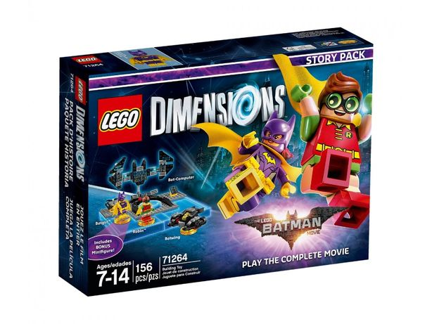 LEGO 71264 - Dimensions Story Pack - Batman Movie - stan BDB