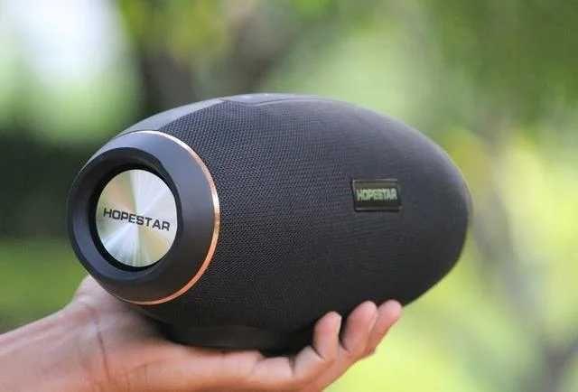 Портативная Колонка Hopestar H20 Bluetooth Хопестар Стерео Сабвуфер